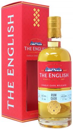 The English Whisky Co. - Single Cask #B2 / 293 - 2014 6 year old Whisky