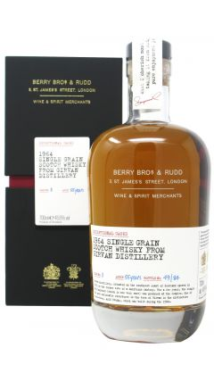 Girvan - Berry Bros. & Rudd Single Cask #3 - 1964 55 year old Whisky