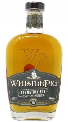 WhistlePig - Farmstock Crop Batch #003 Rye Whiskey