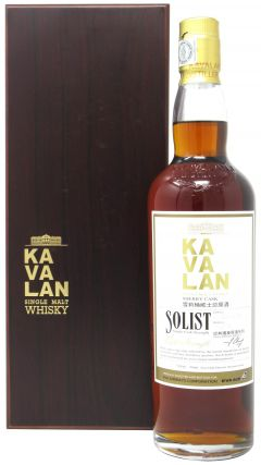 Kavalan - Solist Cask Strength Sherry Cask Eva Airways - 2009 Whisky