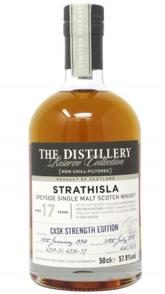 Strathisla - Distillery Reserve Cask Strength Edition - 1998 17 year old Whisky