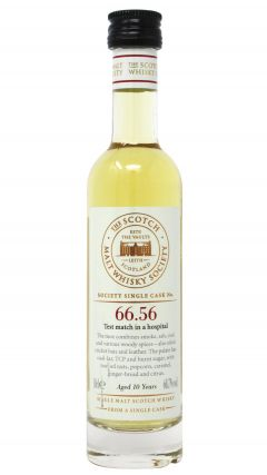 Ardmore - Scotch Malt Whisky Society SMWS 66.56 (10cl Bottle) - 2003 10 year old Whisky