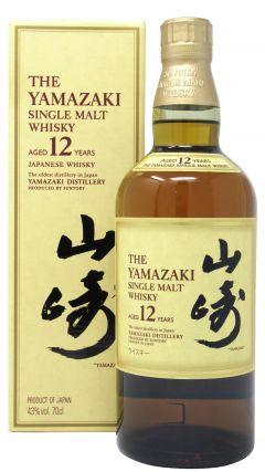 Yamazaki - Single Malt (old style) 12 year old Whisky