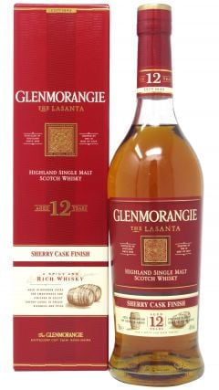 Glenmorangie - Lasanta Sherry Cask Finish 12 year old Whisky