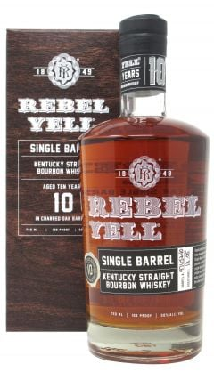 Rebel Yell - Single Barrel Bourbon 10 year old Whiskey