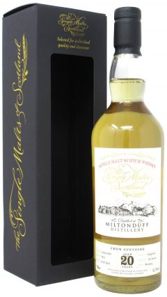 Miltonduff - The Single Malts Of Scotland Single Cask #5014 - 1999 20 year old Whisky