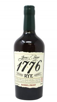 James E Pepper - 1776 Straight Rye Barrel Proof Whiskey