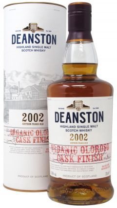Deanston - Organic Oloroso - 2002 17 year old Whisky