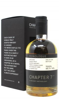 Miltonduff - Chapter 7 Monologue Single Cask - 1998 21 year old Whisky