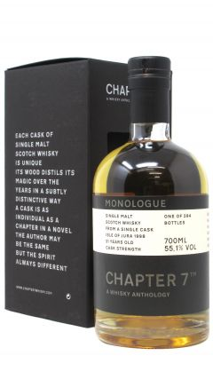 Jura - Chapter 7 Monologue Single Cask - 1998 21 year old Whisky