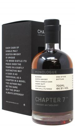 Blended Malt - Chapter 7 Monologue Blended Whisky 26 year old Whisky
