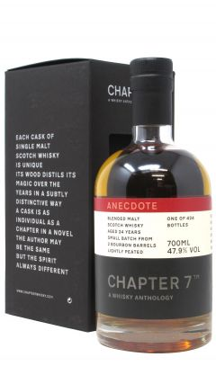 Chapter 7 - Anecdote - Blended Malt 24 year old Whisky