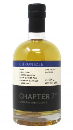Chapter 7 - Chronicle - Small Batch Islay Single Malt 8 year old Whisky