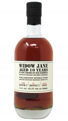 Widow Jane - New York Bourbon 10 year old Whiskey