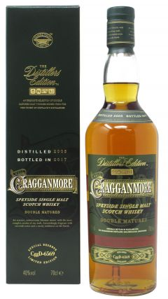 Cragganmore - Distillers Edition 2017 - 2005 12 year old Whisky