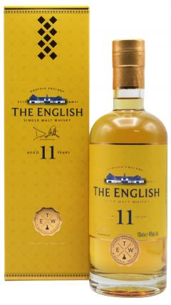 The English Whisky Co. - The English Batch 1 11 year old Whisky