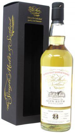 Glen Keith - Single Malts Of Scotland Single Cask #171272 - 1995 24 year old Whisky
