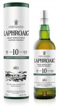 Laphroaig - Cask Strength Batch 012 10 year old Whisky