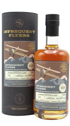 Dumbarton (silent) - Infrequent Flyers Single Cask #178 - 1997 22 year old Whisky