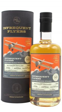 Miltonduff - Infrequent Flyers Single Cask #701585 - 2009 10 year old Whisky