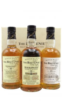 Balvenie - Malt Master's Selection 3 x 20cl 25 year old Whisky