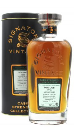 Mortlach - Signatory Single Cask #6074 - 1990 23 year old Whisky