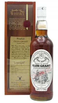 Glen Grant - Highland Single Malt - 1956 50 year old Whisky