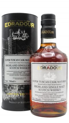 Edradour - Super Tuscan Cask Matured Batch #1 - 2006 8 year old Whisky