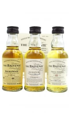Balvenie - 3 x 5cl Miniature Gift Pack Single Malt 15 year old Whisky