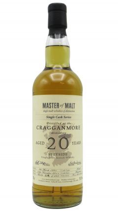 Cragganmore - Single Cask Series #1146 - 1991 20 year old Whisky