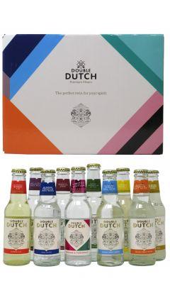 Double Dutch - 10 x 200ml Bottles of Premium Flavoured Mixers