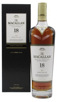 Macallan - Sherry Oak Highland Single Malt 2020 Edition 18 year old Whisky