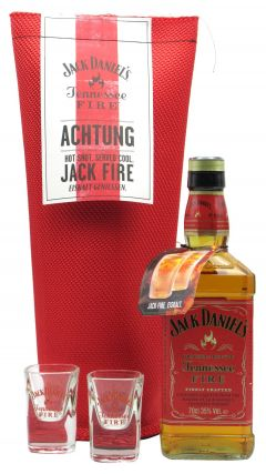 Jack Daniels - Tennessee Fire Achtung Jack Fire Whiskey