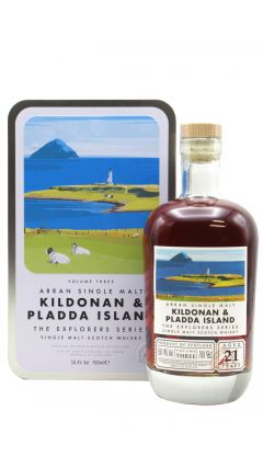 Arran - Kildonan and Pladda Island - Explorers Series Volume 3 21 year old Whisky