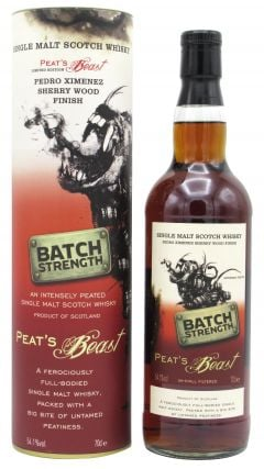 Peats Beast - Volume 2 Batch Strength PX Sherry Cask Finish Whisky