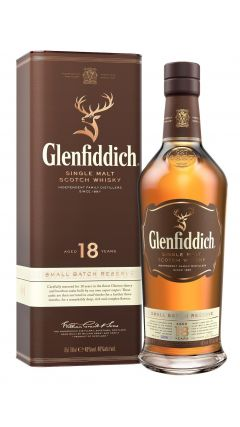 Glenfiddich - Single Malt Scotch 18 year old Whisky