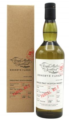 Caol Ila - Single Malts of Scotland - Reserve Cask - Parcel #2 - 2009 10 year old Whisky