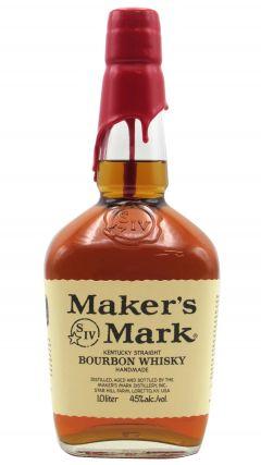Maker's Mark - Kentucky Straight Bourbon (1 Litre) Whiskey