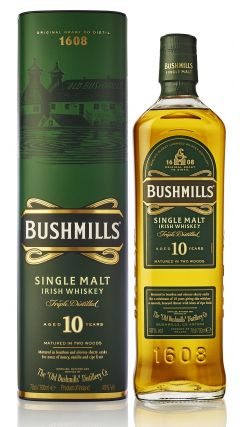 Bushmills - Irish Single Malt 10 year old Whiskey