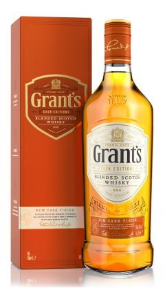 William Grant's - Rum Cask Edition - Blended Scotch Whisky