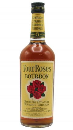 Four Roses - Kentucky Straight Bourbon (old bottling) 6 year old Whiskey