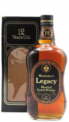 Mackinlay's - Legacy Blended Scotch (old bottling) 12 year old Whisky