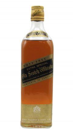 Johnnie Walker - Black Label (old bottling) Whisky