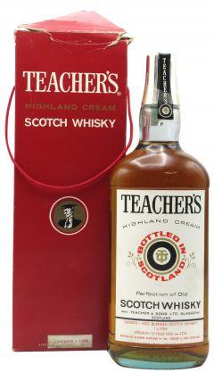 Teacher's - Highland Cream (old bottling) Whisky
