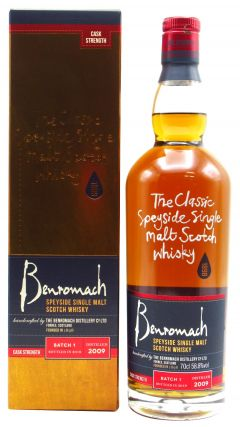 Benromach - Cask Strength Batch 1 - 2009 10 year old Whisky