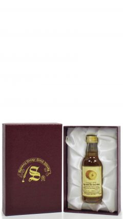 Glen Flagler (silent) - Signatory Vintage - Miniature - 1970 22 year old Whisky