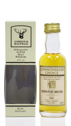 North Port (silent) - Connoisseurs Choice - Miniature - 1981 Whisky