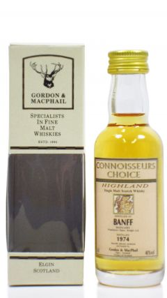 Banff (silent) - Connoisseurs Choice - Miniature - 1974 Whisky