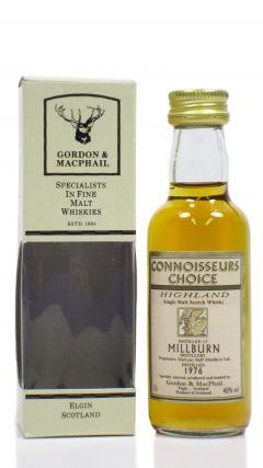 Millburn (silent) - Connoisseurs Choice - Miniature - 1976 Whisky