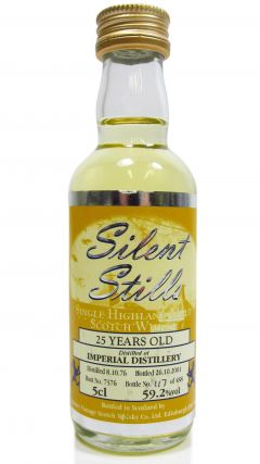 Imperial (silent) - Silent Stills Miniature - 1976 25 year old Whisky